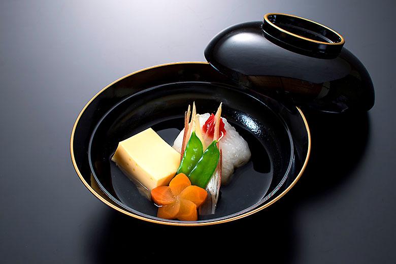 煮物椀:ハモの煮物椀