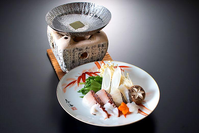 鍋物:海鮮しゃぶしゃぶ