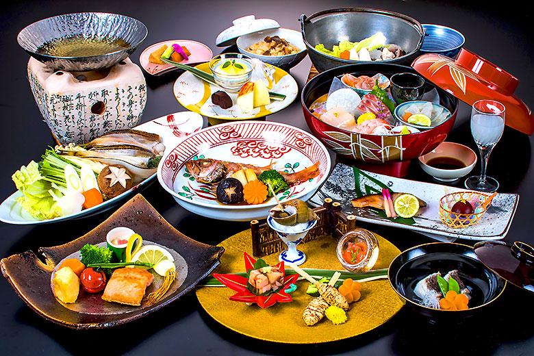 冬季限定特別料理-庄内浜の贅尽くし会席-
