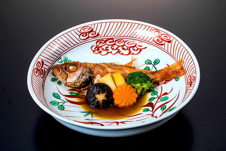 【蓋 物】日本海産のど黒姿煮