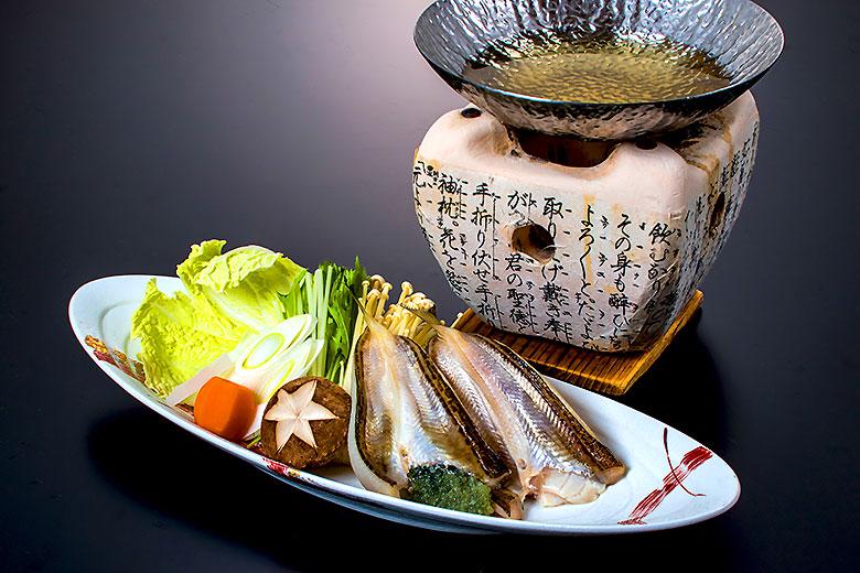 【鍋 物】鰰(ハタハタ)出汁鍋