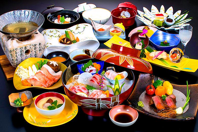 【冬の華やぎ会席】たちばなや基本のお料理コース(2021年2月末迄)