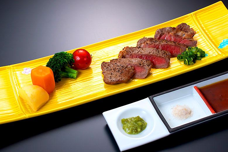【焼物】山形牛サーロイン塩焼き