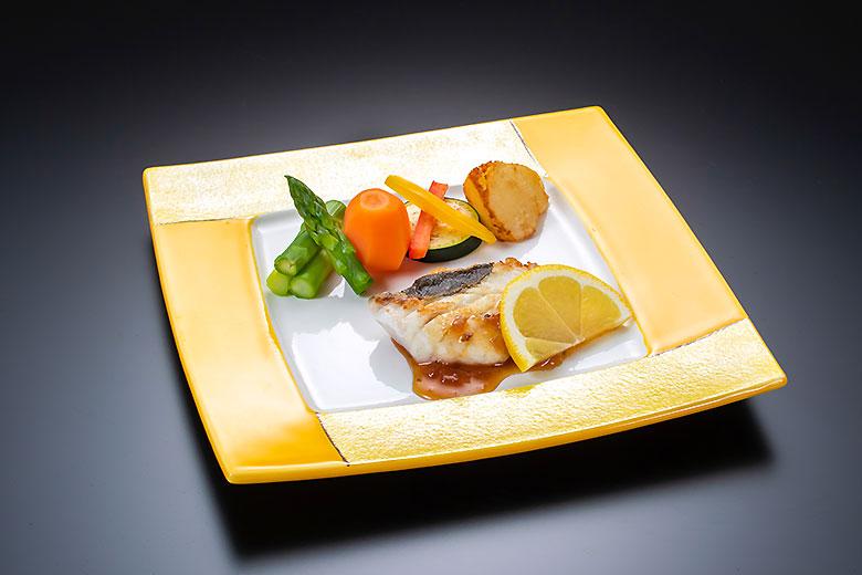 庄内浜の白身魚のソテー