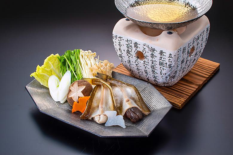 鍋物 子持鰰の開き特製出し汁鍋